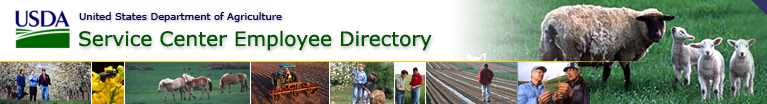 USDA-Service Center Employee Directory